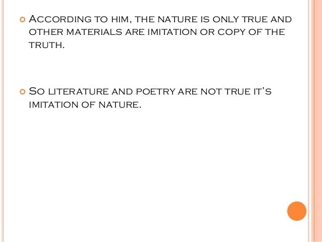 """thoery of imitation by plato Poetry as declared by plato is mother of lies and aristotle set out to prove that it  was not  theory of imitation and the concept of catharsis in aristotle""""s poetics."""