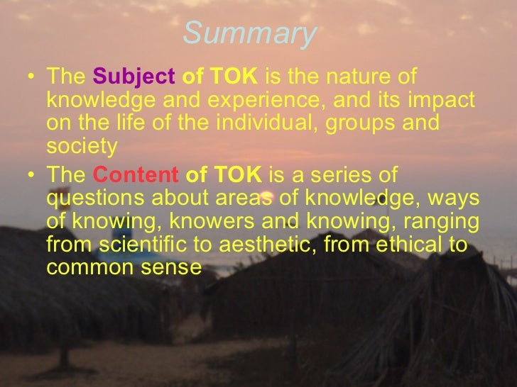 tok the possession of knowledge carries View essay - theory paper from 355 ks at rutgers university theory of knowledge the possession of knowledge carries an ethical responsibility evaluate this claim.