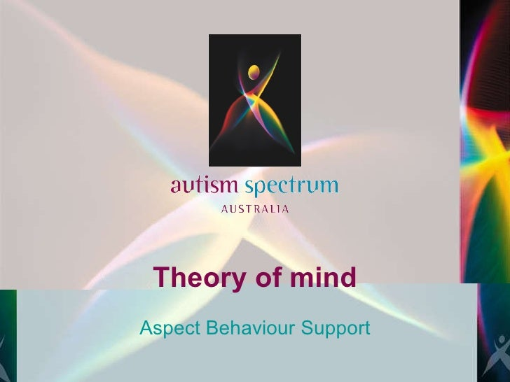 Theory of mind Aspect Behaviour Support