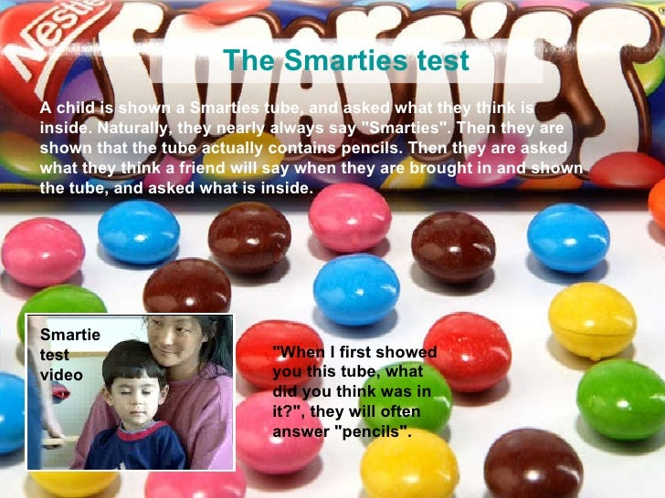 Theory Of Mind Smarties Test