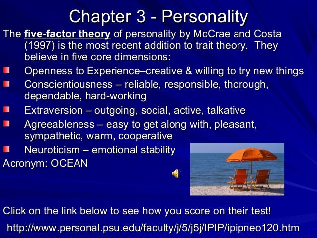 the nomothetic approach in personality testing essay
