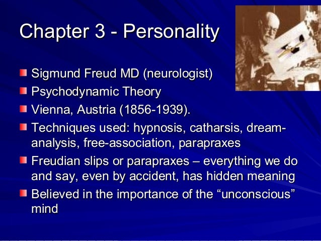 Theory of personality ...