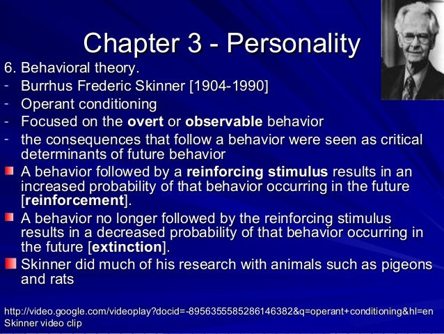 personality behavioral approach A distinctive feature of the scientific approach to personality measurement is the   personality inventories, projective techniques, and behavioral observation.