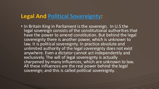 john austins theory of sovereignty Author:john austin  ←author index: au, john austin (1790–1859)  austin's  theory of sovereignty in political science quarterly, vol 9, no.