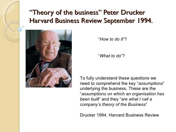 the theory of the business Other articles where the theory of business enterprise is discussed: in 1904 he published the theory of business enterprise, in which he expanded on his evolutionary theme of the incompatibility between the modern industrial process and the irrational means of business and finance (ie, on the difference between making goods and making money).