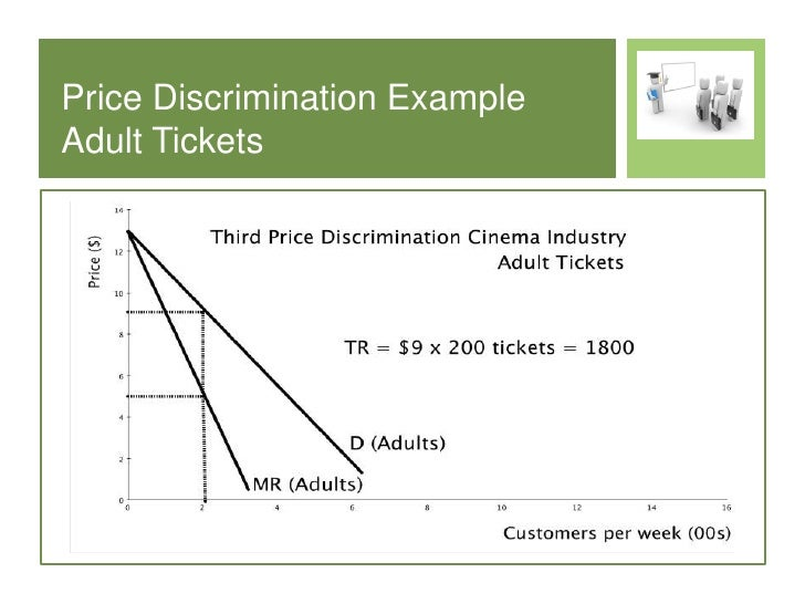 The definition and concept behind price discrimination