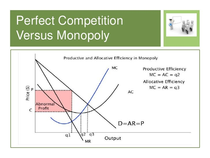 monopoly versus perfect markets essay