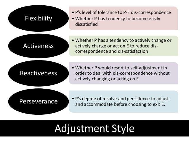 theory of work adjustment