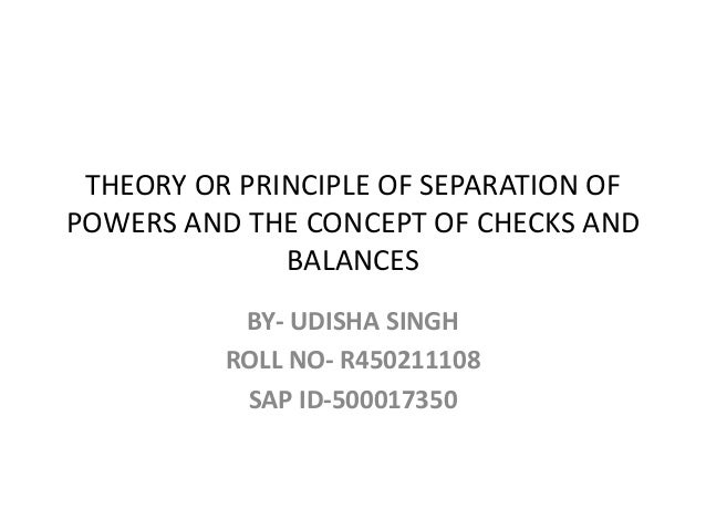 doctrine of separation of power analysis Separation of powers is a doctrine that is often believed to rest at the  keith e  constitutional construction: divided powers and constitutional meaning.