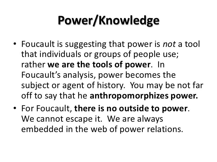 Knowledge And Individual Power Essay