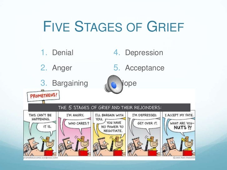 An analysis of the five stages of dealing with death