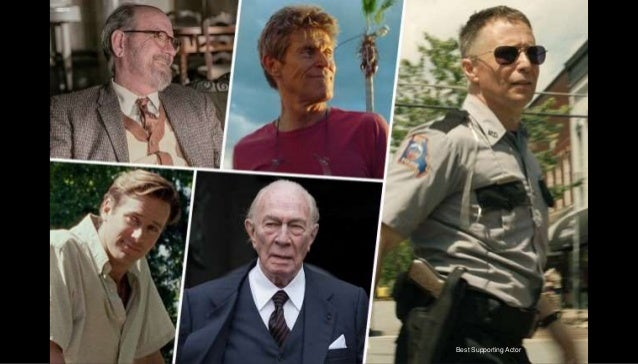 Oscar Nominations - The Nominees for the 2018 Academy Awards