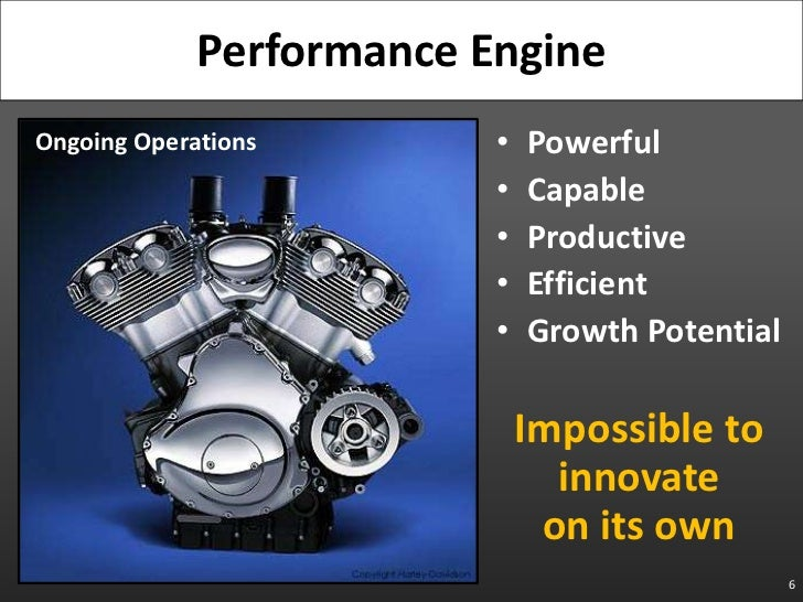 Powerful<br />Capable<br />Productive<br />Efficient<br />Growth Potential<br />Impossible to innovateon its own<br />6<br...