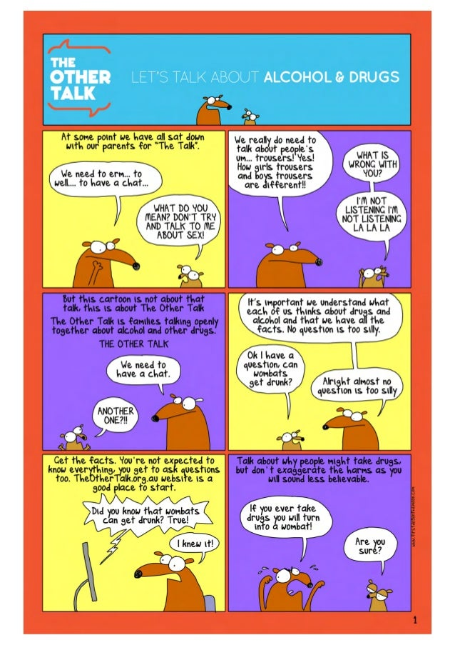 The Other Talk cartoon
