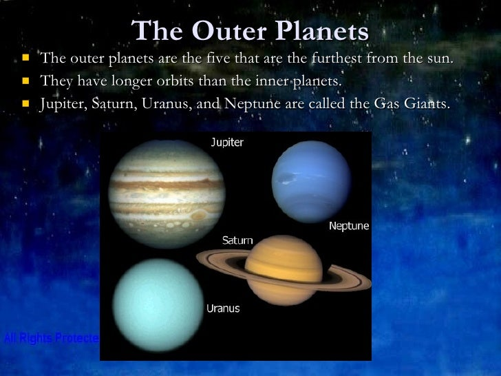outer planets and their characteristic - photo #1