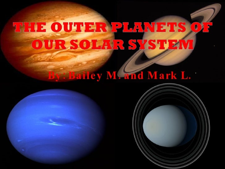 about the four outer planets - photo #37