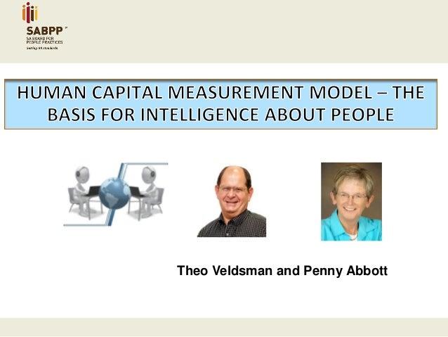 Theo Veldsman and Penny Abbott