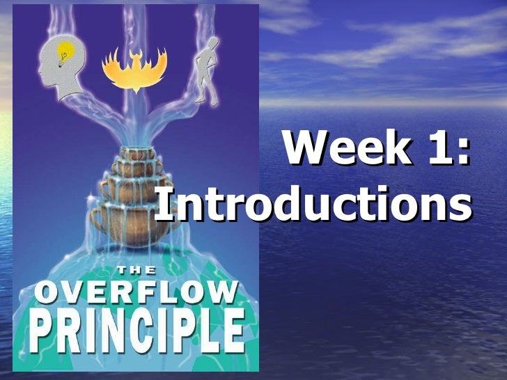 Week 1: Introductions