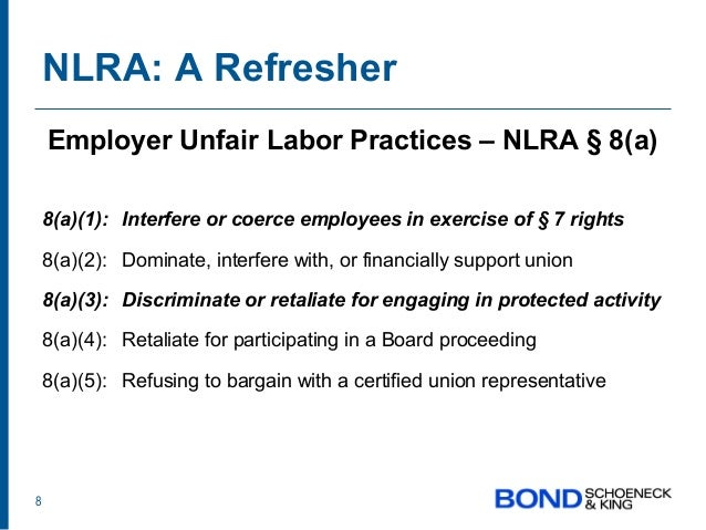 national labor relations act essay This essay analyzes the national labor relations act (nlra), which was enacted in the year 1935 forms the basic stature on labor relations in the united.
