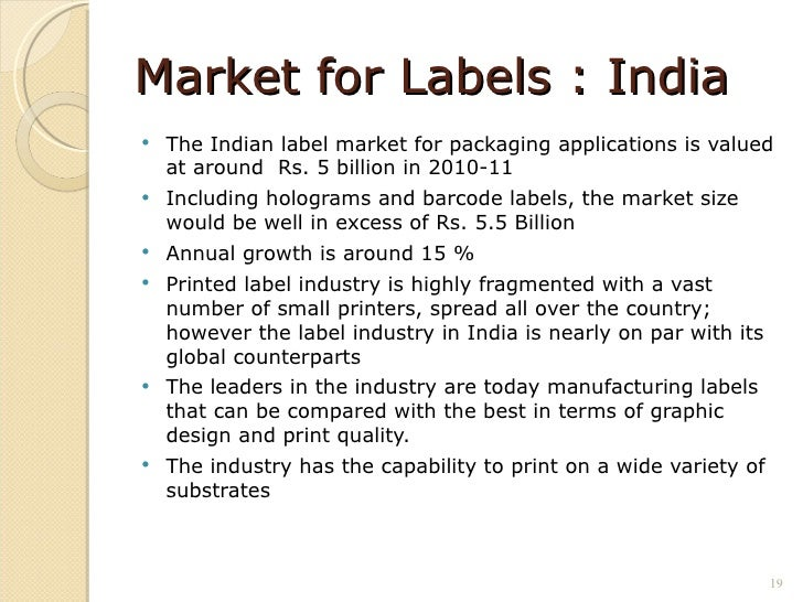 the packaging industry in india Packaging industry in india - download as word doc (doc), pdf file (pdf), text file (txt) or read online.