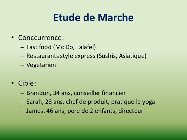The paleo friendly final - Etude de marche cuisine ...