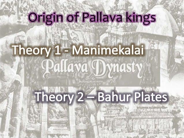 The pallava dynasty