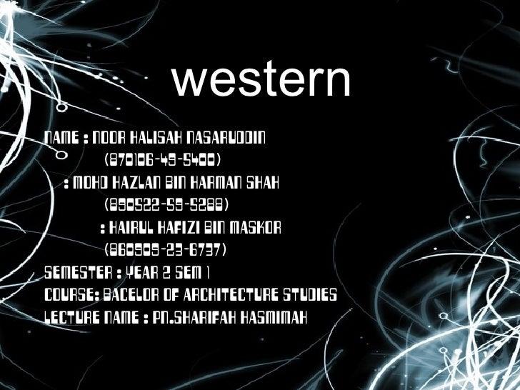 western NAME : NOOR HALISAH NASARUDDIN    (870106-49-5400) : MOHD HAZLAN BIN HARMAN SHAH    (890522-59-5288)   : HAIRUL HA...