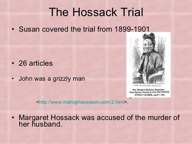 "the theme of murder in susan glaspells short story a jury of her peers Most critics agree that susan glaspells ""a jury of her peers  loosely based on the 1900 murder of  jury of her peers,'' the expanded short story version."