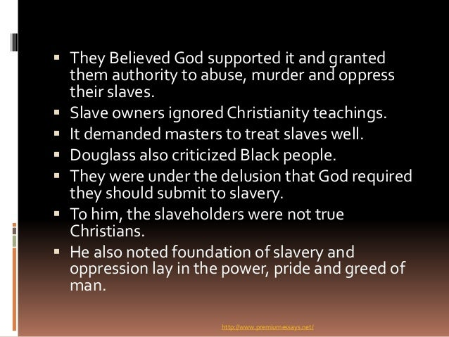 christianity paradox The paradox of christianity and slavery the attitudes that white christians had towards the blacks and slavery over the last century is among the most disturbing religious life's aspects.