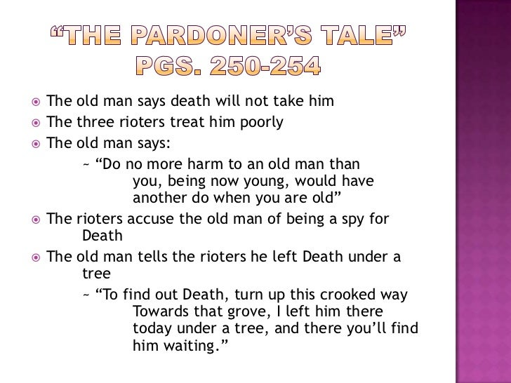 the pardoners tale review and assess essay The pardoners tale essays: over 180,000 the pardoners tale essays, the pardoners tale term papers, the pardoners tale research paper, book reports 184 990 essays, term and research papers available for unlimited access.