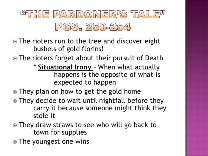 Character Analysis of the Pardoner Essay