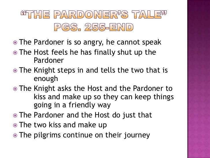 essay about the pardoner tale