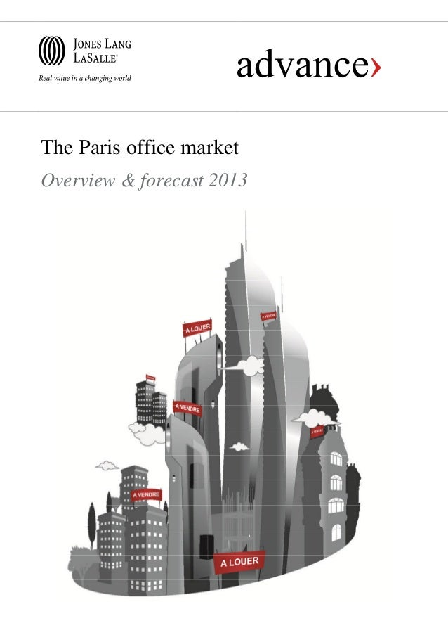 The Paris office marketOverview & forecast 2013