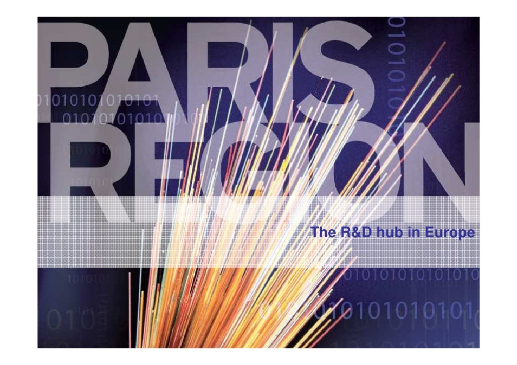 Financing your R&D in the Paris Region