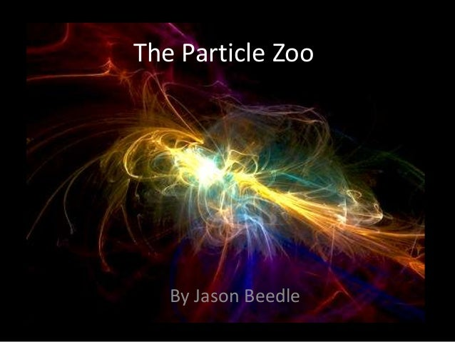 The Particle Zoo   By Jason Beedle