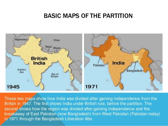 representation of partition of india in Extra(3) br ambedkar in his book 'pakistan or the partition of india', 1940 and 1945-46 documents included evolution of muslim demands from chapter communal aggression  (11) muslim representation in the local bodies should be governed by the principles underlying the communal award, that is,.
