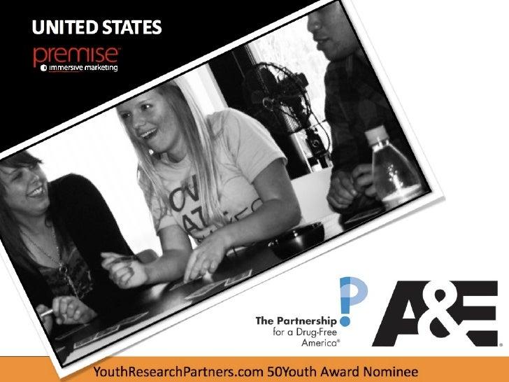 UNITED STATES     YouthResearchPartners.com 50Youth Award Nominee