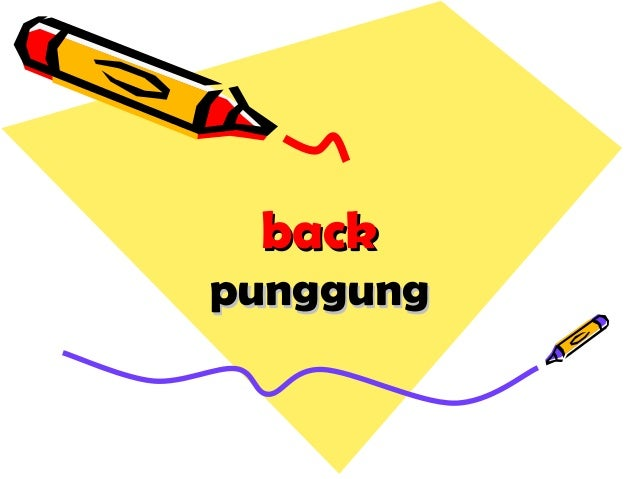 backback punggungpunggung