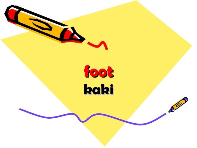 footfoot kakikaki