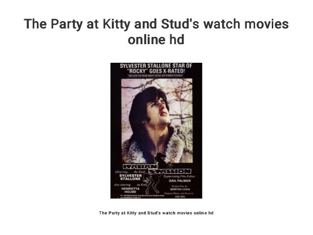 at kitty and stud Party