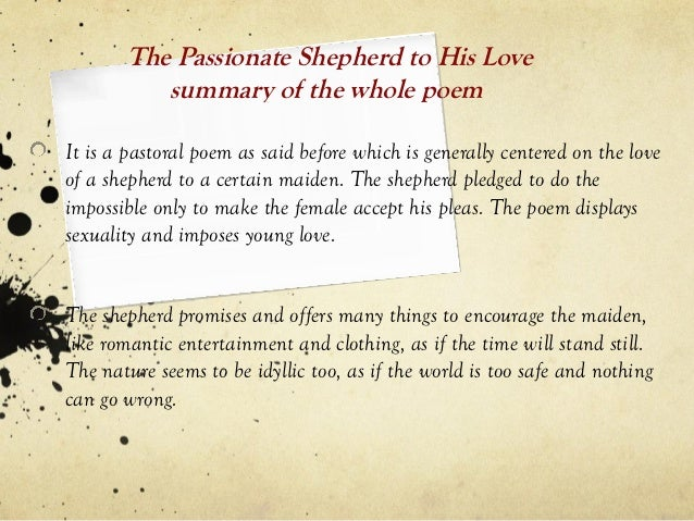 love poem analysis Love after love is an unusual love poem which concentrates on loving the self, the inner self, following the break down of a relationship it's main theme is that of becoming whole again through self-recognition, a kind of healing that works by self-conscious invitation.
