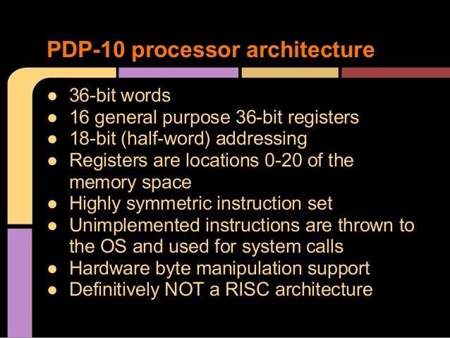 The Pdp 10 And Me