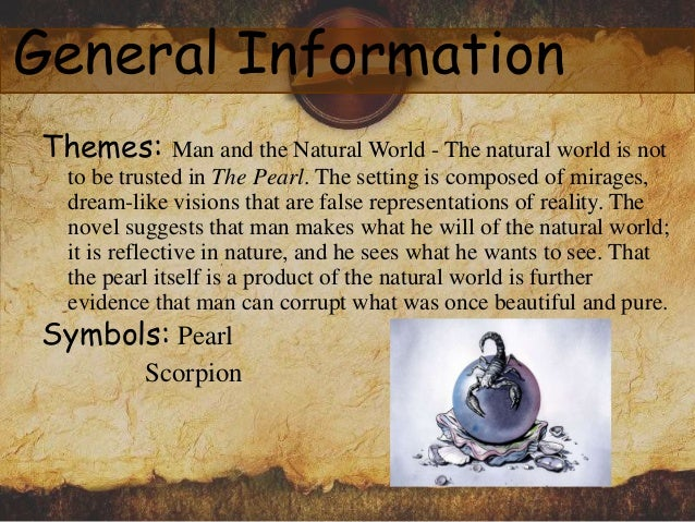the pearl by john steinbeck about the book author characters and p   general information 10