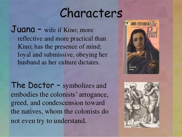 an analysis of kinos virtues in the pearl by john steinbeck