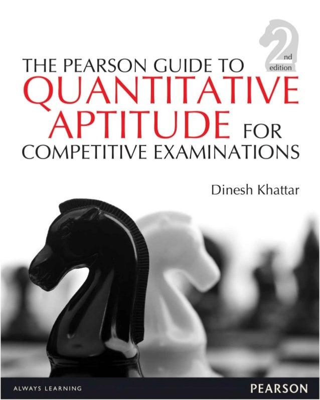 quantitative aptitude/ objective arithmetic