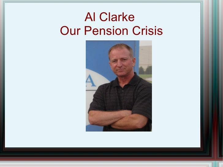 The Pension Crisis