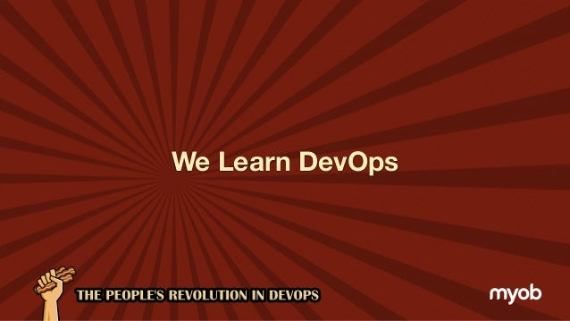 The People's Revolution in DevOps Slide 3
