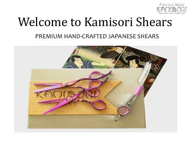 Welcome to Kamisori Shears PREMIUM HAND-CRAFTED JAPANESE SHEARS