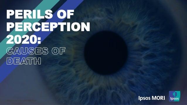 © Ipsos | Perils of Perception 2020 | Public | PERILS OF PERCEPTION 2020: