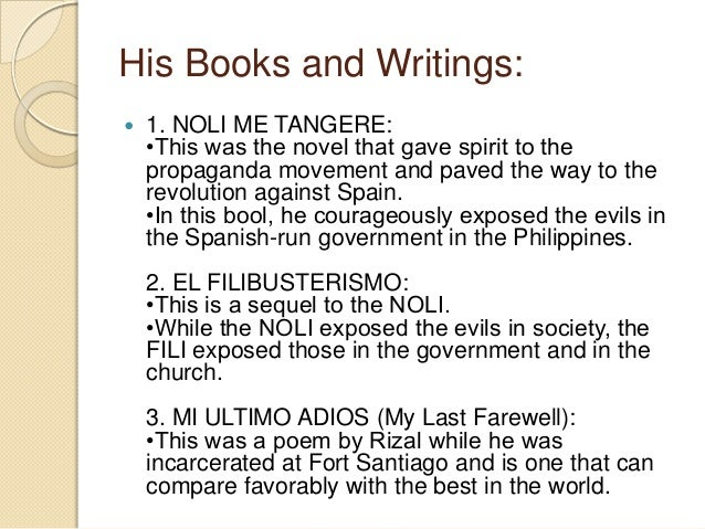 difference between noli me tangere and el filibusterismo